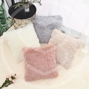 Soft Fluffy Pillow Covers - 4 colors